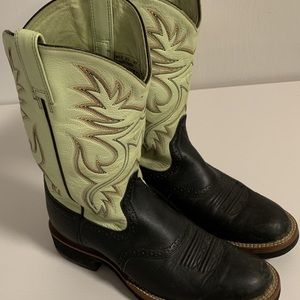 ARIAT Womens Western two color boots 8 B